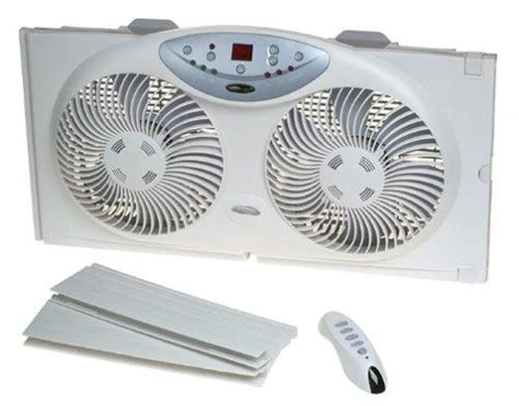 bionaire twin window fan amazon com bionaire twin reversible airflow window fan