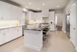 Black And White Granite Countertops Black And White Granite Island Countertop Contemporary