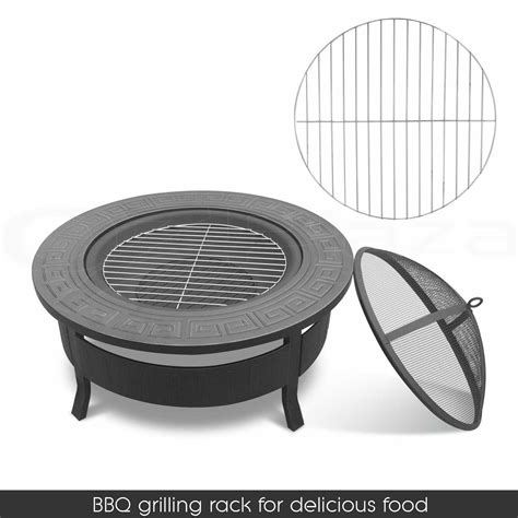 outdoor pit bbq table grill garden patio cing