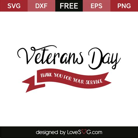 service for veterans veterans day thank you for your service lovesvg