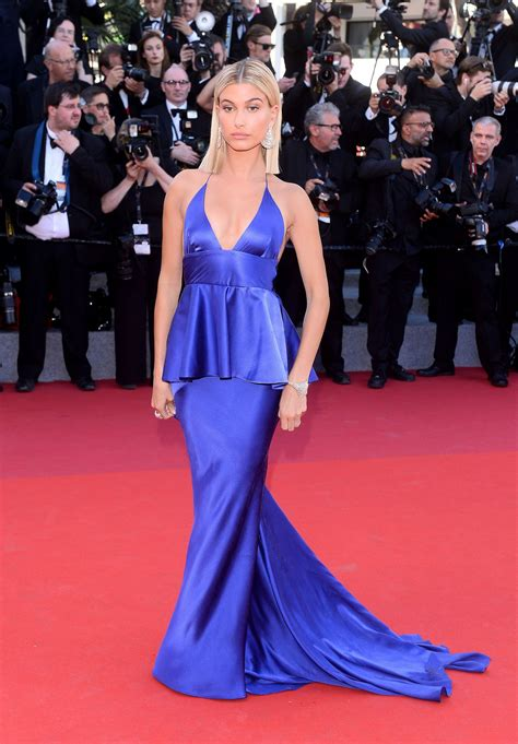 Cannes Festival by Hailey Baldwin 70th Cannes Festival Opening