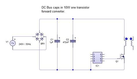 smps capacitor ripple current ripple current rating of smps input electrolytic caps electrical electronic engineering other