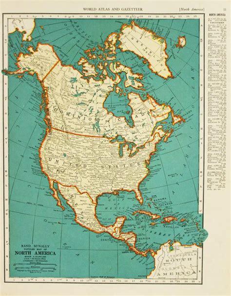 america map vintage vintage map america united states original 1935
