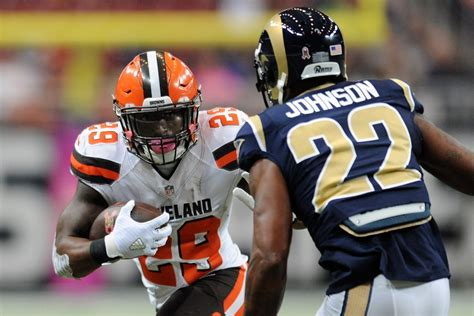 rams cleveland cleveland browns v st louis rams zimbio