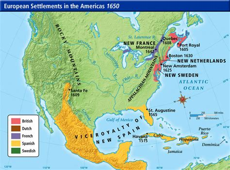 pattern of french settlement in north america bkushistory licensed for non commercial use only