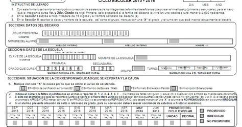 benefiados de prospera 2016 telesecundaria papantla prospera indicaciones para