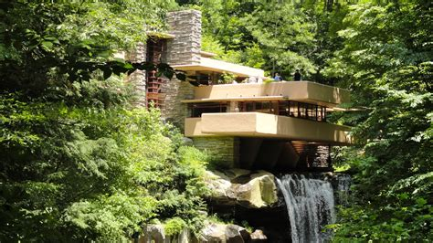 falling water travel on the level wright s fallingwater doesn t disappoint