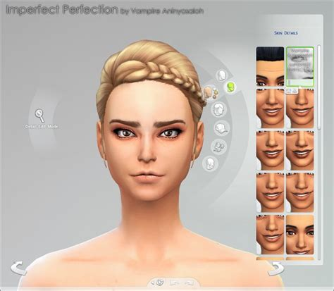 cc sims 4 female skin imperfect perfection skin by vire aninyosaloh at mod