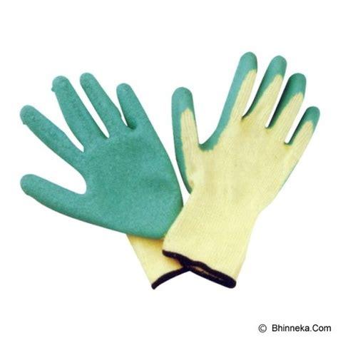 Sarung Tangan Kulit Krisbow jual krisbow rubber coating gloves kw1000340 murah