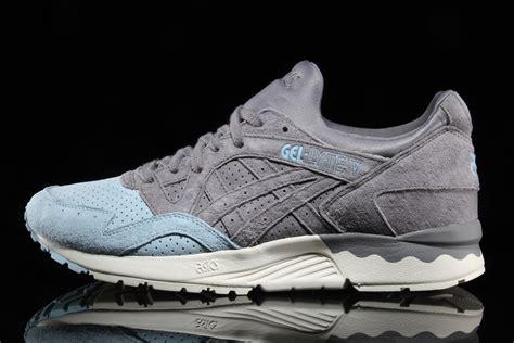 Sneakers Sepatu Asics Gel Lyte V Grey Original Premium 40 44 asics gel lyte v suede toe pack sneaker bar detroit