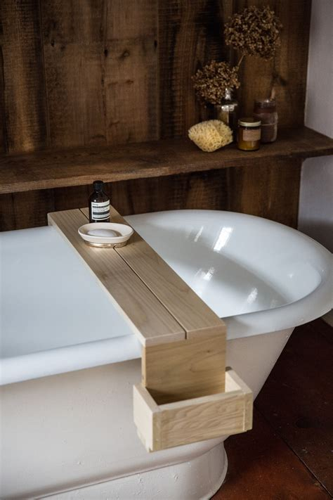 bathtub caddy old soul a revolution era hudson valley home gets an update from jersey ice cream co remodelista