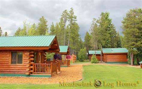 Amish Meadow Lark Cottages 16x20 Log Cabin Meadowlark Log Homes