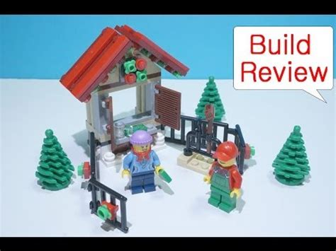 lego christmas tree stand review exclusive winter 2013