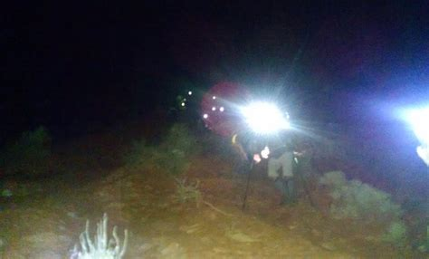 Washington County Utah Search Misleading Map Prompts Nighttime Rescue By Sar Team On Mountain Trail St