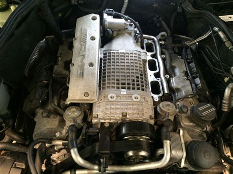 taupo motor c mercedes c32 amg w203 supercharger rebuild by power torque