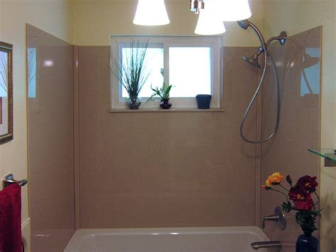 onyx shower tub surround  vinyl window dont   lose  window  problem  onyx