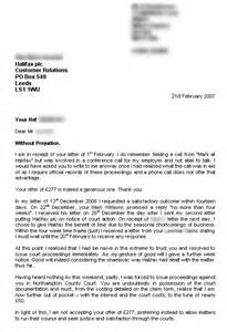 Mortgage With Offer Letter Uk So Then On 2nd February I Recieve This Letter