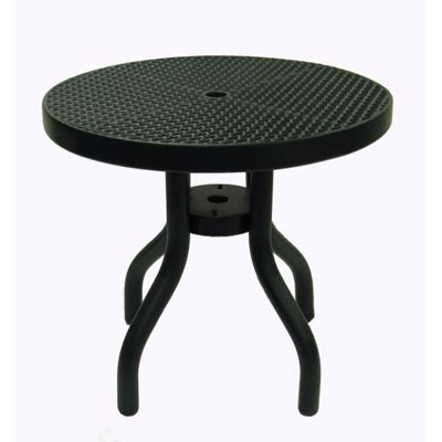 metal mesh top patio table 30 inch patio table expanded metal mesh