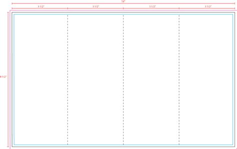us press templates 14 x 8 5 4 panel z fold