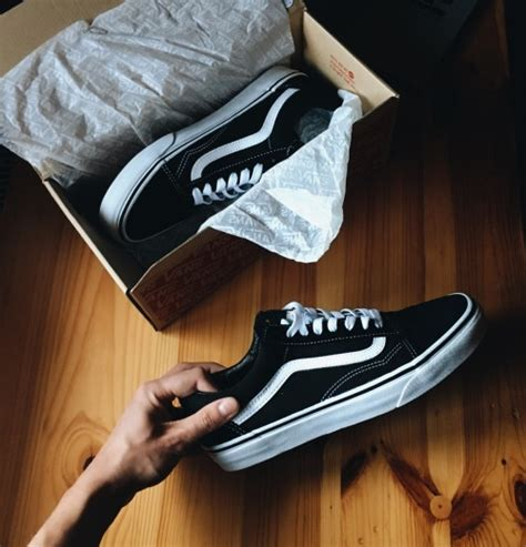 old shoes on the floor vintage beauty fashion photos vans old skool white tumblr