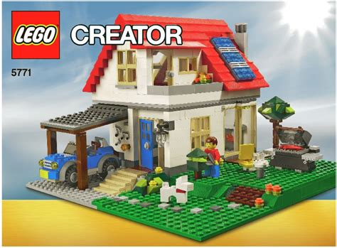 lego creator house lego creator 5771 hillside house new in factory sealed box ebay