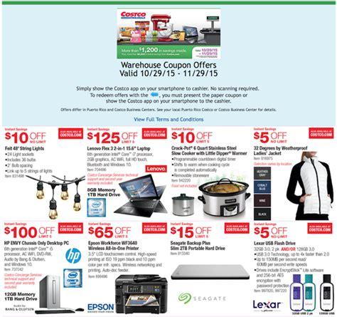 Costco Black Friday Deals November 2015   Weekly Ads