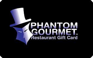 Phantom Gourmet Gift Card Restaurants List - super savings on 7 phantom gourmet restaurant egift