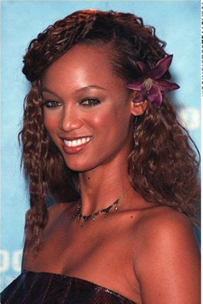 curly hairstyle high forehead best 25 tyra banks forehead ideas on pinterest