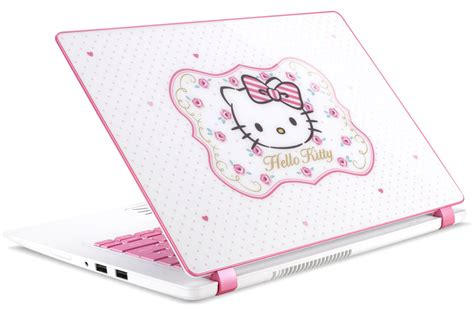 hello kitty themes lenovo look hello kitty laptop now available in ph abs cbn news