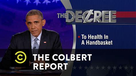 colbertnation com colbert nation the colbert report the colbert report president obama delivers the decree