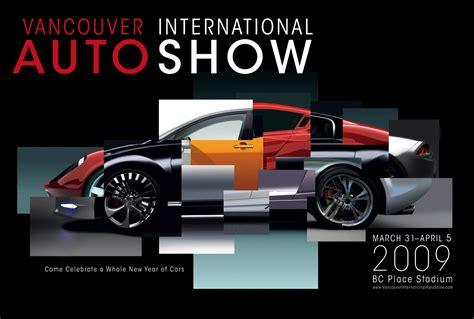 Poster Auto by Adrien Deggan S Vancouver International Auto Show Poster