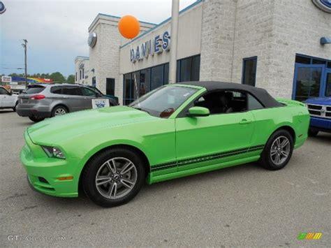 mustang gotta it green 2013 gotta it green ford mustang v6 premium