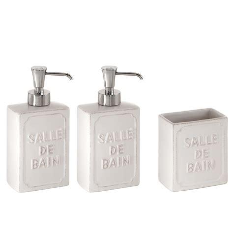 accessori bagno in ceramica set appoggio bagno 3 pezzi in ceramica gedy per arredo
