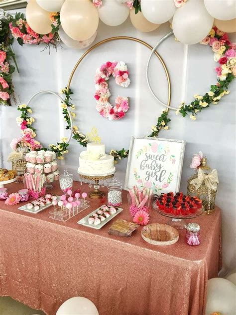 Floral Themed Baby Shower by Best 25 Floral Baby Shower Ideas On Baby