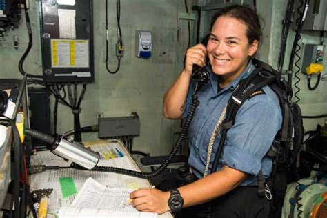 boatswain canadian forces smooth sailing for women in the caf pacific navy news