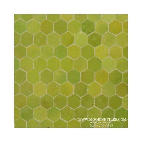 Green Hexagon Mosaic Tile   Kitchen Tile