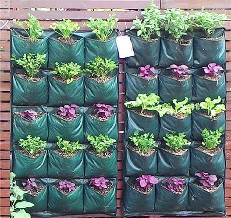 Pot Kantong Tanaman Sayuran 30 Liter kantong tanam vertikal di lahan sempit bebeja