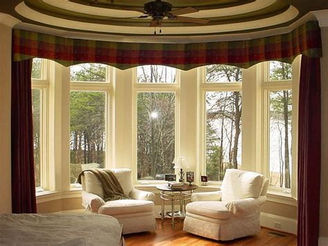 window treatment ideas doors windows bay window treatment ideas with various
