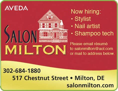 Cottage Preschool Lewes by Salon Milton Is Hiring Cape Gazette