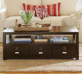 Pottery Barn Coffee Tables Pottery Barn Rhys Coffee Table Copycatchic