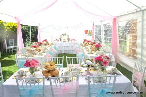 high tea kitchen tea ideas floral7 jpg