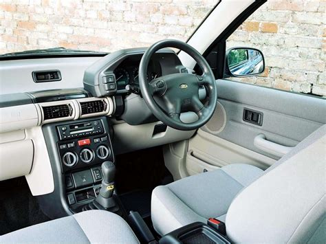 land rover freelander 2002 interior land rover freelander 2002 picture 26 1600x1200