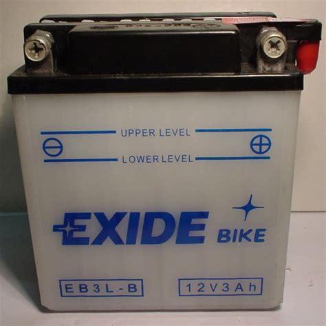 Motorradbatterie 12v 3ah by Motorradbatterie 12v 3ah Batterie Ecke Batterieservice