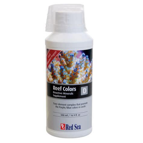 Sea Trace Colors D Bioactive Elements Supplement Coral Color D 730773220731 upc sea fish pharm ltd reef colors d upc lookup