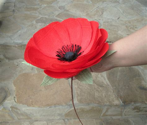 Paper Poppies - paper poppy paper flower paper poppy wedding