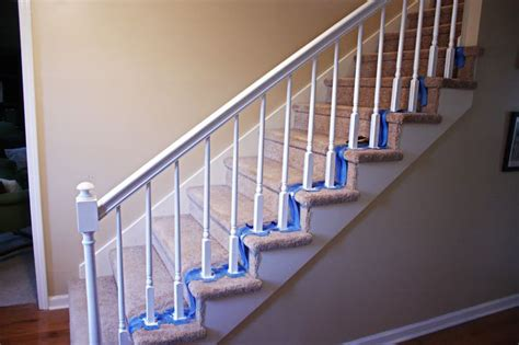 painting wood banister 23 best images about oak ideas on pinterest black granite oak cabinets and before