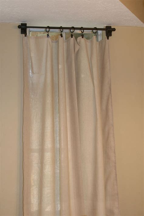 Drapes With Hooks Easy Sew Curtains With Clip Hooks Sewing
