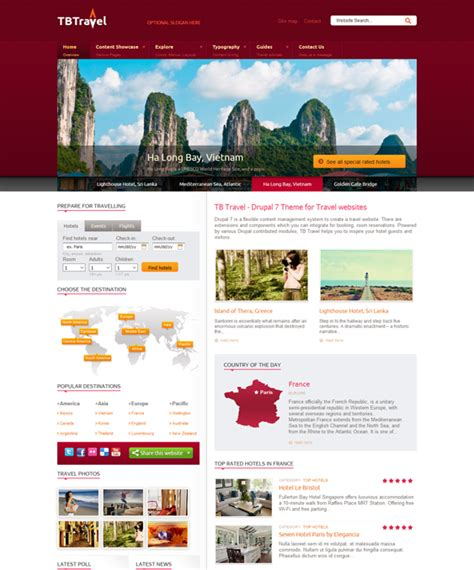 drupal theme travel 7 of the best travel drupal themes down