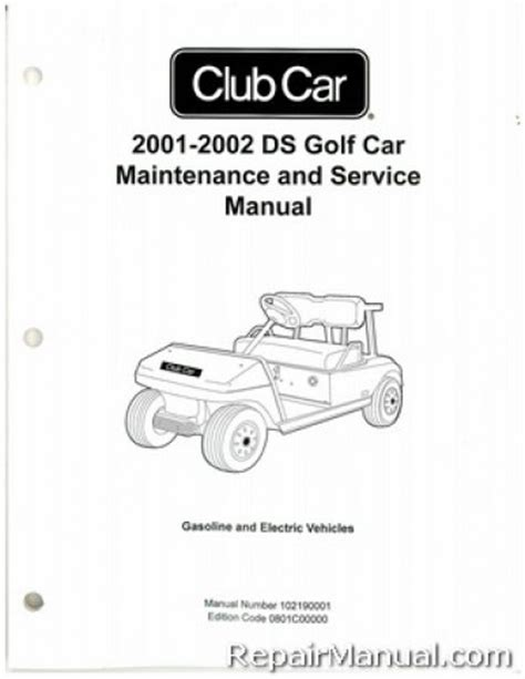 service manual electric and cars manual 2002 ford th nk regenerative braking service manual 2001 2002 club car ds golf car gas electric service manual