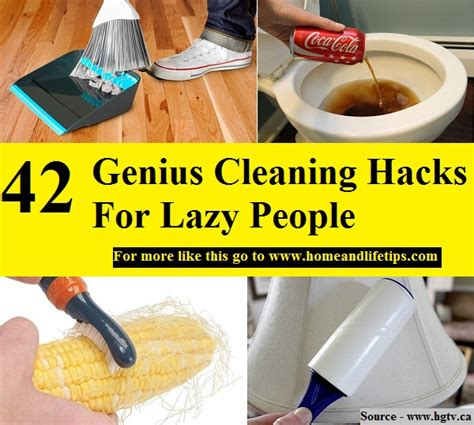 cleaning for lazy people 42 genius cleaning hacks for lazy people home and life tips